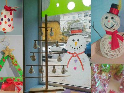 Nuestros centros se llenan de manualidades navideñas