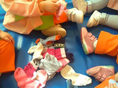 Juntamos calcetines y aprendizajes