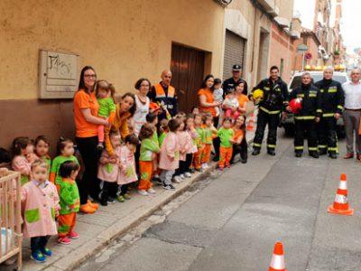 Trastes desarrolla el primer simulacro de evacuación de una escuela infantil en Puertollano