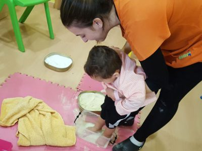 Circuitos sensoriales para los pequeñines de la escuela
