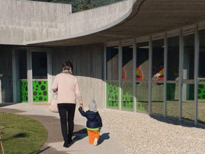 El año de Trastes CEI arranca con la apertura de la nueva escuela de Mos (Pontevedra)