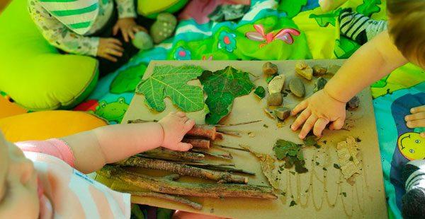 Receta para la estimulación sensorial: Autumn -