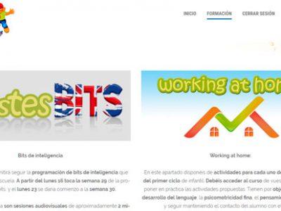 ¿Conoces nuestra web para trabajar la estimulación temprana en casa?