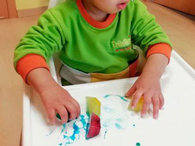 Hielo y color para sorprendernos pintando