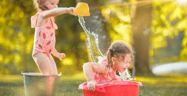 Juegos con agua en Trastes Centros de Educación Infantil